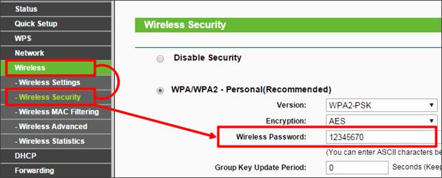 узнаем пароль от Wifi