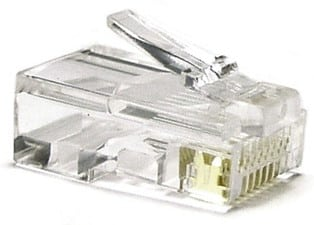 RJ-45 - коннектор для интернет кабеля